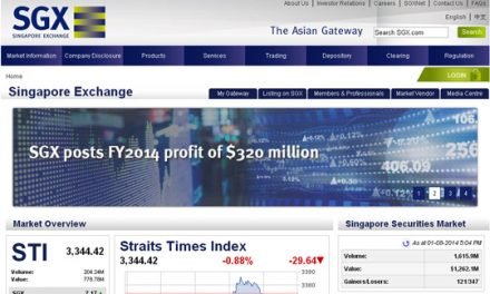 SGX Confirms Board Lot Size Reduced From 1,000 To 100