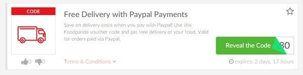 Picodi Singapore Paypal Discount