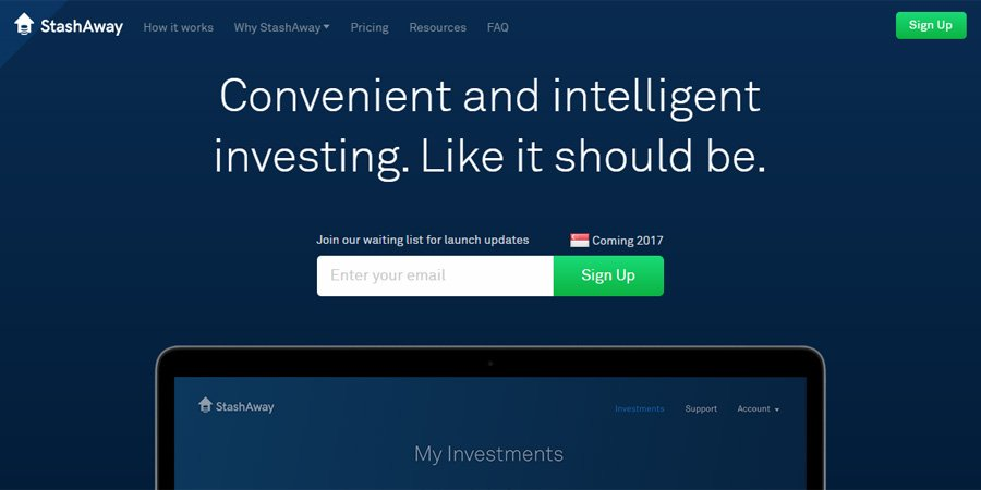 Robo-Advisor StashAway Gets S$3-Million Funding