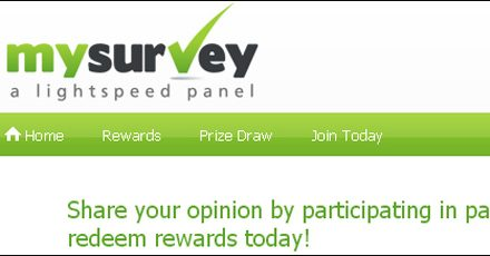 Paid Survey – My Survey