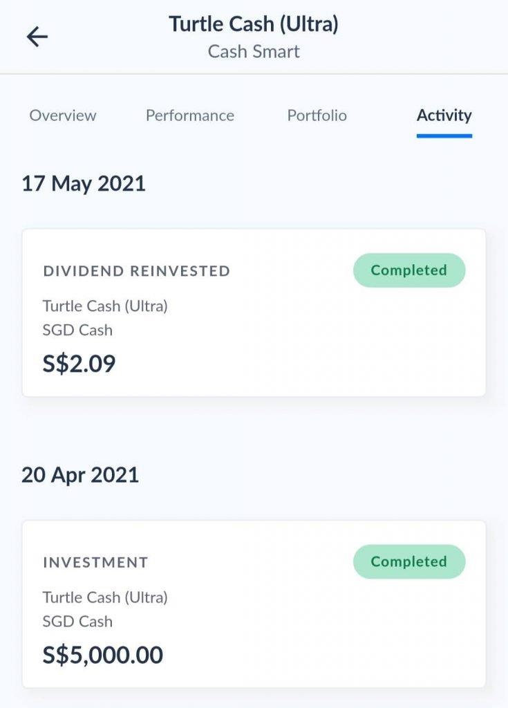 endowus cash smart ultra review